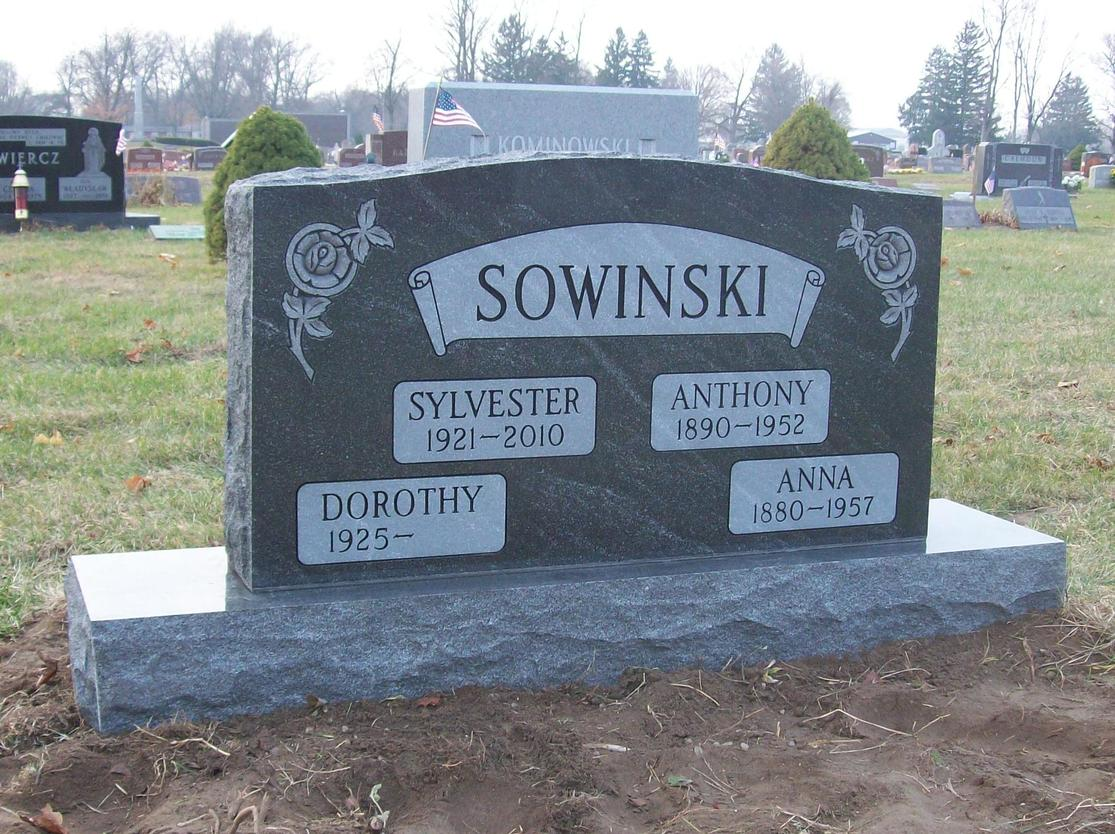 select a grave marker for family
