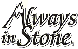 Always in Stone logo