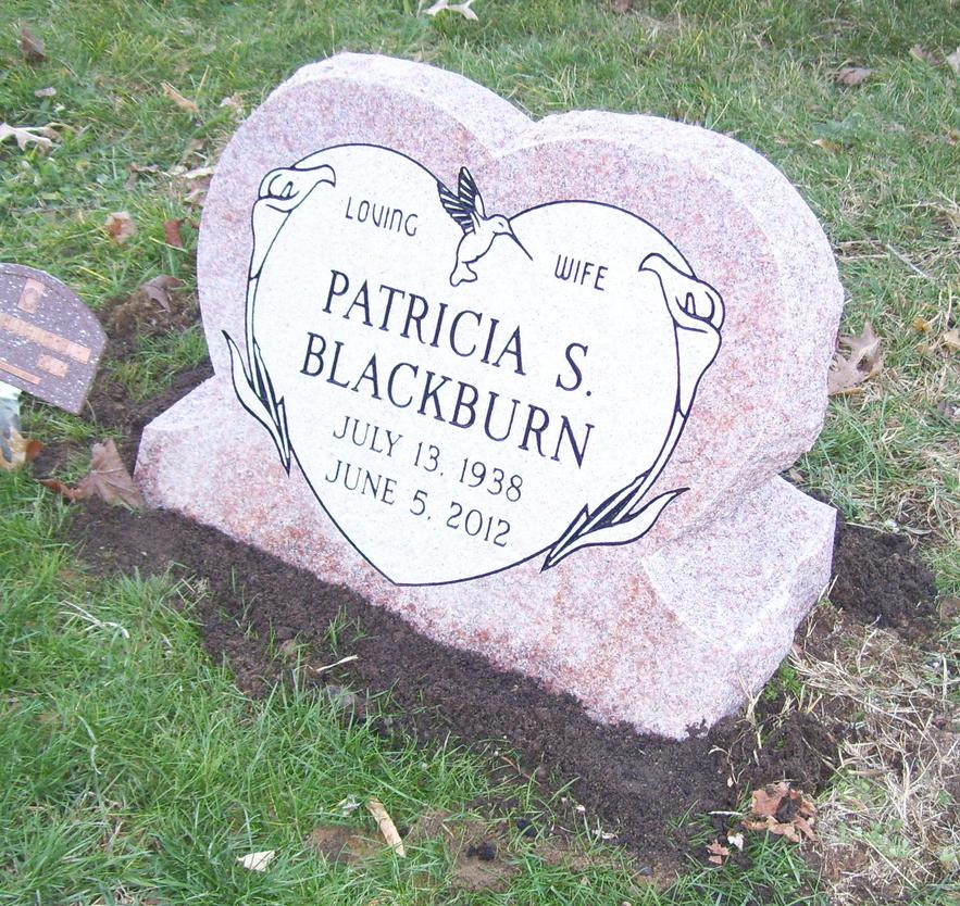 elkhart memorials in custom shapes Always in Stone Elkhart IN